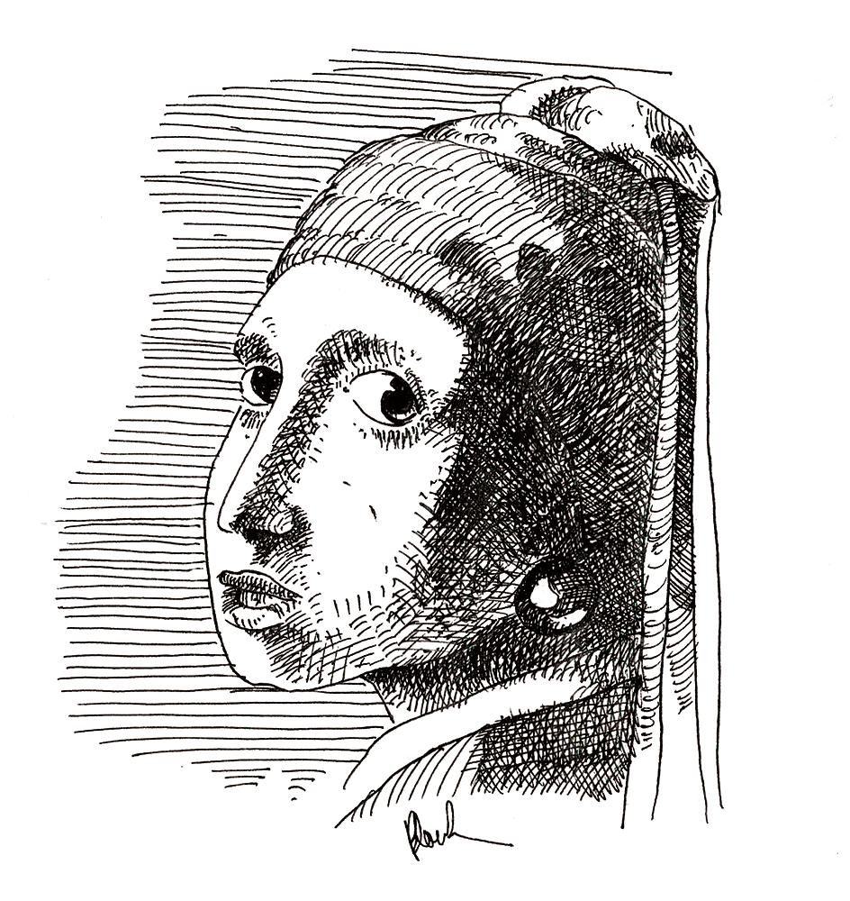 Meisje met de parel/La Jeune Fille à la perle/Girl with a Pearl Earring