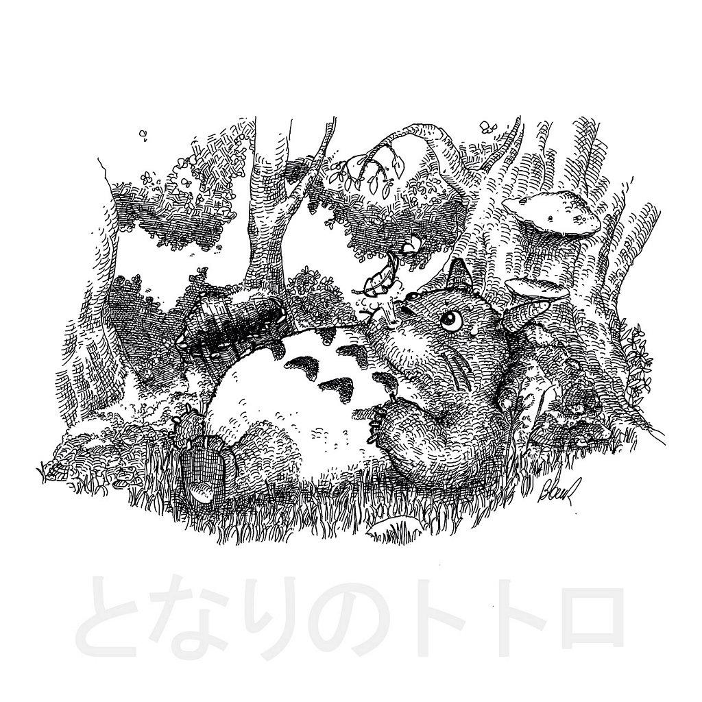 Mon voisin Totoro (となりのトトロ)