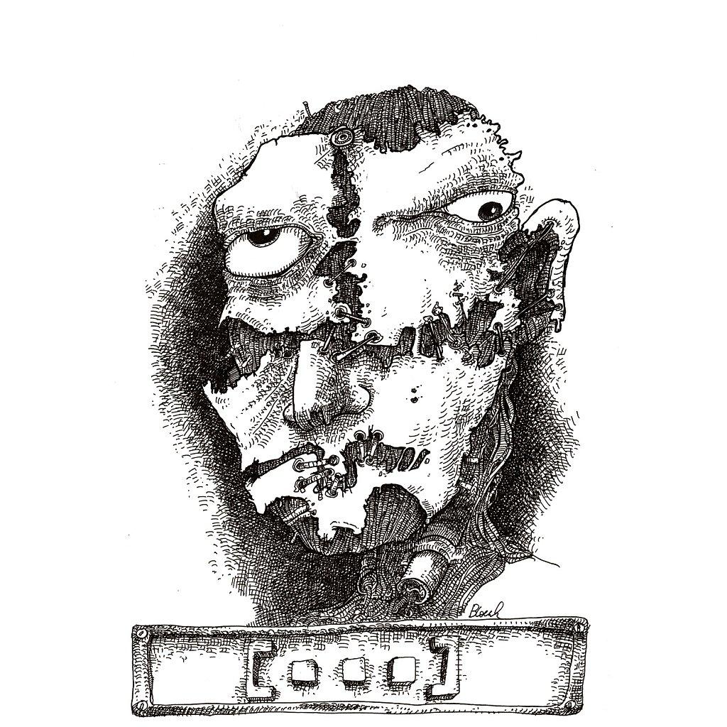 Masque de complaisance brisé